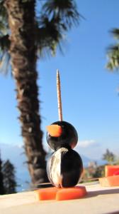 cuisine amusante pingouin amuse gueule sous les palmiers