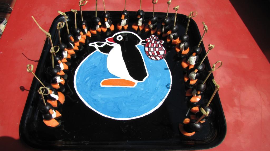 pingouin en cercle