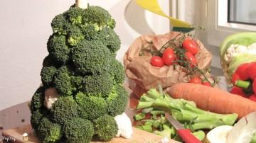 sapin de brocolis