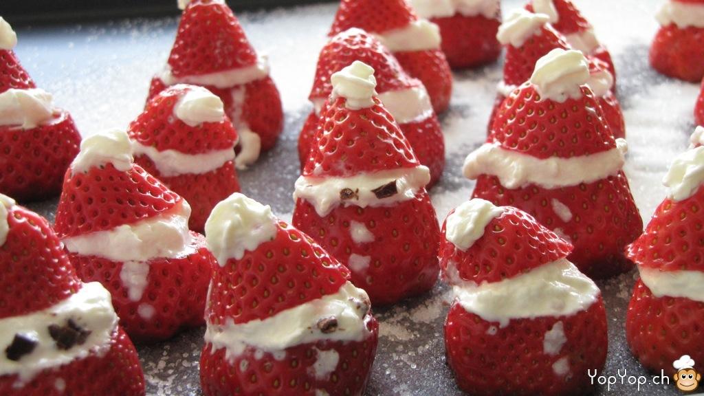La recette des pères Noël en Babybel... La recette des pères Noël ...