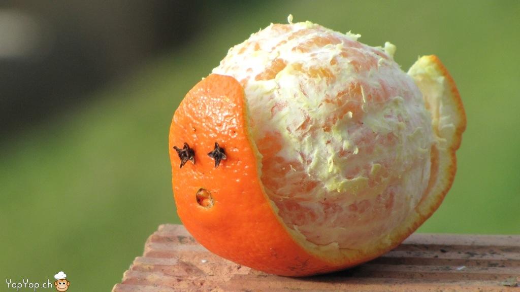 Un bien étrange escargot orange - YopYop - Apprendre la cuisine amusante