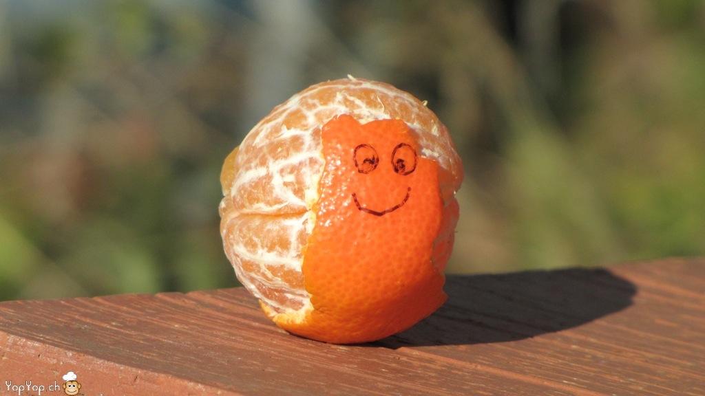 escargot en mandarine