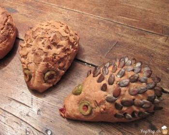 pain en forme de hérisson