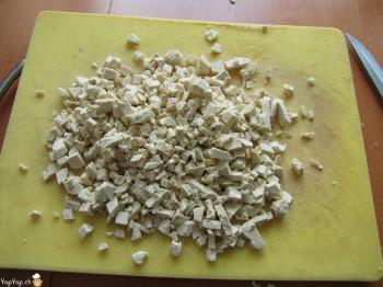 couper le tofu
