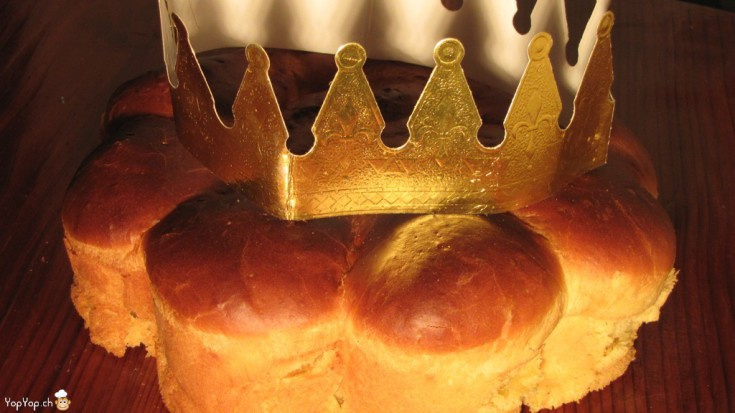 galette des rois en brioche