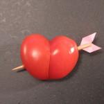 coeur en tomate recette facile pour la st-valentin