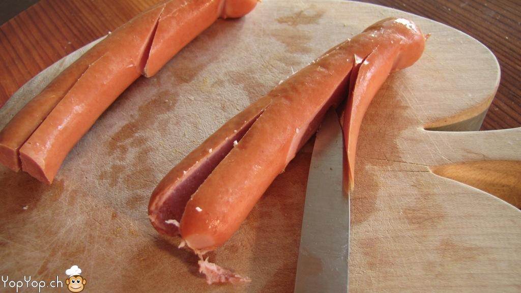 Bien connu Recette des saucisses momies de pâte feuilletée. La cuisine amusante SA13