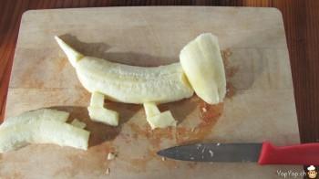 banane à patte de chien