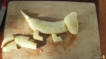 queue du chien banane