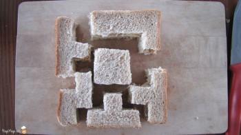 sandwich tetris éclaté