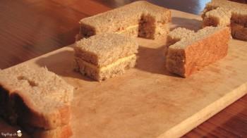 sandwich tetris en coupe
