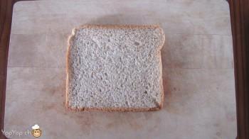 manger du renne: 1-marche à suivre renne rudolf en pain toast