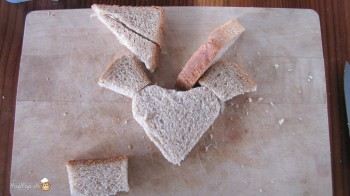 manger du renne: 11-marche à suivre renne rudolf en pain toast