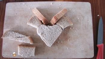 manger du renne: 12-marche à suivre renne rudolf en pain toast