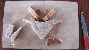 manger du renne: 13-marche à suivre renne rudolf en pain toast