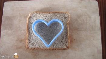 manger du renne: 2-marche à suivre renne rudolf en pain toast