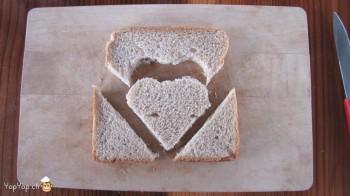 manger du renne: 5-marche à suivre renne rudolf en pain toast