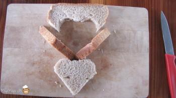 manger du renne: 6-marche à suivre renne rudolf en pain toast