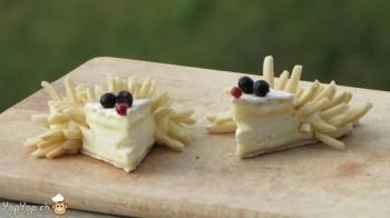 7-amuse bouche camembert hérisson en fromage
