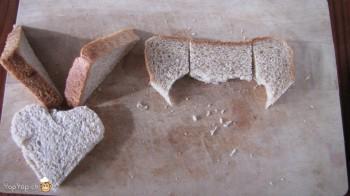 manger du renne: 7-marche à suivre renne rudolf en pain toast