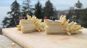 8-amuse bouche au camembert en forme de hérisson