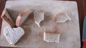 manger du renne: 8-marche à suivre renne rudolf en pain toast
