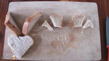 manger du renne: 9-marche à suivre renne rudolf en pain toast
