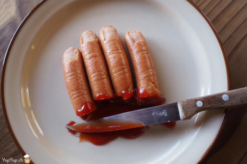 Recette pour Halloween: mangez des doigts !