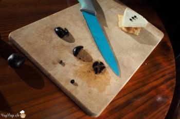 3-amuse bouche pour nouvel an vache qui rit découpage noeud papillon olive