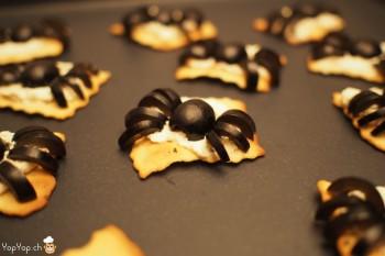 6-recette halloween amuse bouche olive araignée