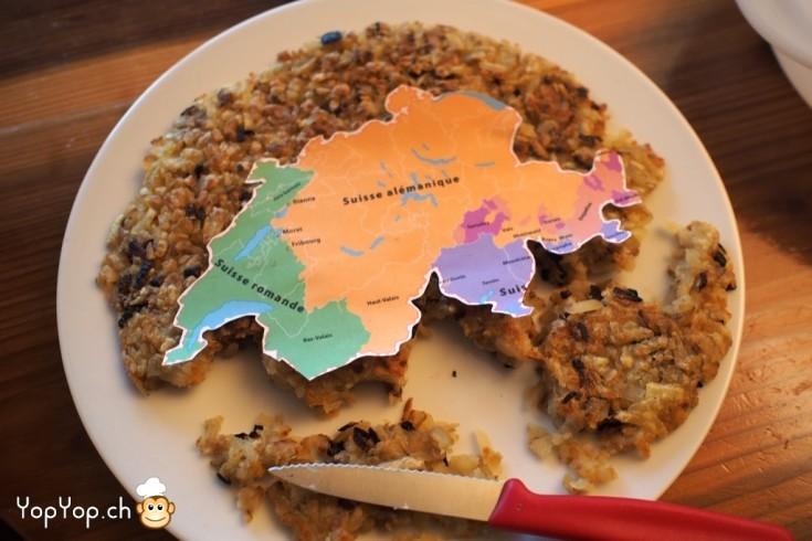 7 recette röstigraben suisse
