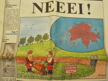 votation EEE 6 décembre 1992 suisse röstigraben