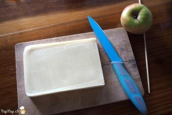 3-amuse-gueule de Noël en fromage et pomme