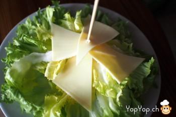 8-amuse-gueule de Noël en fromage salade