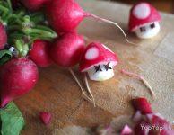 radis champignon nintendo Toad