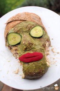 amuse-bouche masque de beauté comestible