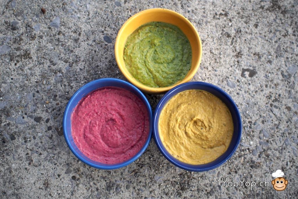 houmous-rose-vert-jaune-multicolor