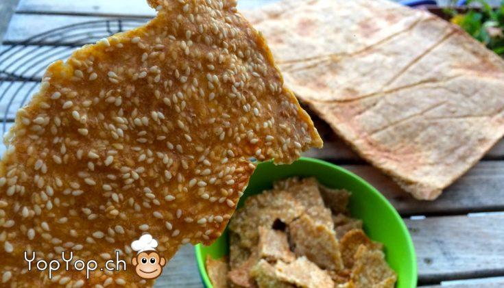 crackers epeautre et sesame