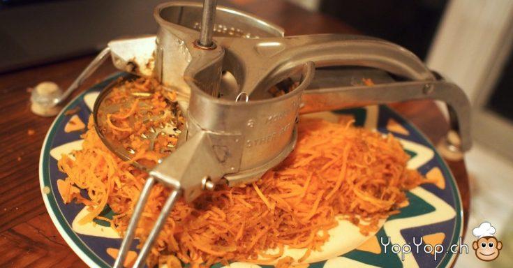 raper les carottes