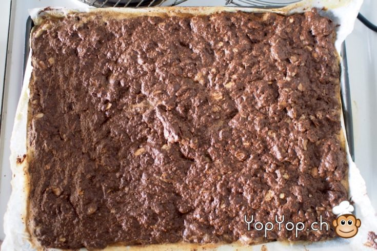 13-pâte brownies cuit au four