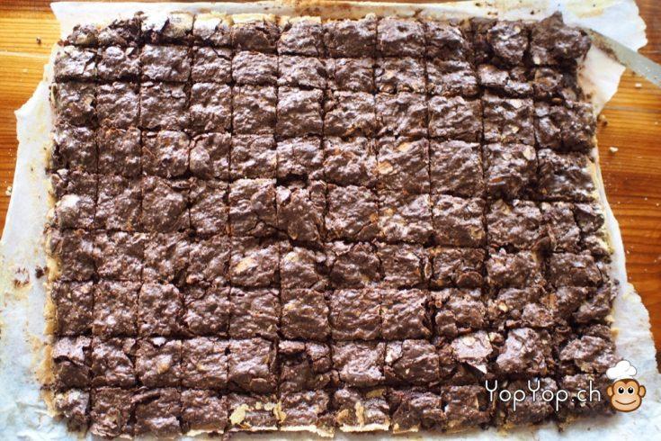 14-découpage des brownies